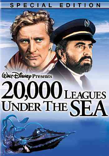 20,000 LEAGUES UNDER THE SEA BY DOUGLAS,KIRK (DVD)